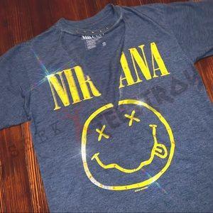 ++ [restyled] • nirvana vneck choker w| bling ++